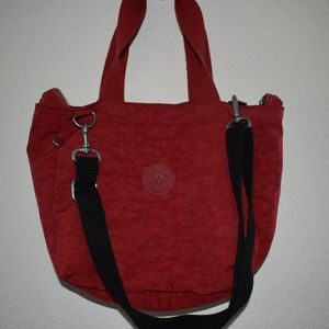 Red Kipling crossbody bag